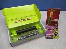 "Zumba Fitness Set, with Two Toning Sticks, DVD, and Fitness Guide,  ""Never Used"""