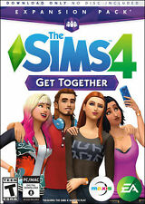 ✔Sealed The Sims 4 GET TOGETHER Expansion Pack (PC & MAC, 2015) No Tax US seller