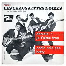 LES CHAUSSETTES NOIRES Daniela rock & roll french 1961 BIEM barclay 70378 EP