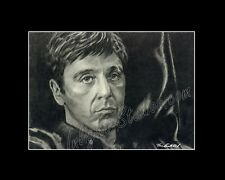 Al Pacino scarface,mafia drawing from artist art Image picture