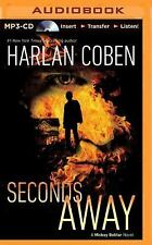 Seconds Away : A Mickey Bolitar Novel 2 by Harlan Coben (2014, MP3 CD,...