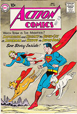 ACTION COMICS #266    superdog Krypto & supercat Streaky app.
