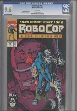 Robocop #18  CGC 9.6 199 Marvel Comic Based upon the Movie : Lee Sullivan Cover