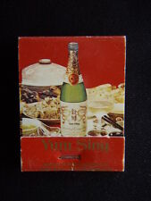 IF YOU'RE EATING CHINESE YOU SHOULD BE DRINKING YUM SING STONYFELL MATCHBOOK