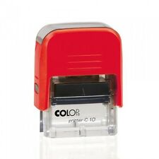 Colop Self Pre Ink Rubber Stamp PAID FILE COPY RECEIVED VOID CHECKED EMAILED