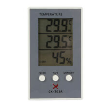 Digital Thermometer Hygrometer Temperature Humidity Meter Wired External Sensor