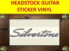 SILVERTON SILVER HEADSTOCK STICKER VISIT MY OUR STORE WITH MANY MORE MODELS