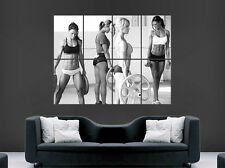 WOMEN ABS GYM WEIGHTS FITNESS HOT SEXY GIRLS POSTER ART PICTURE PRINT LARGE