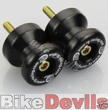 Triumph Daytona 675 up to 2012 R&G racing black cotton reels bobbins