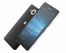 "NEW Microsoft Lumia 950 DS RM-1118 FACTORY UNLOCKED Dual Sim 5.2"" QHD 20MP Black"