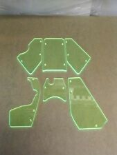 1/5 Baja ROVAN Buggy FRONT and REAR Fluorescent Green Windows upgrade USA Made