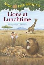 Lions at Lunchtime (Magic Tree House, No. 11) by Mary Pope Osborne, Good Book