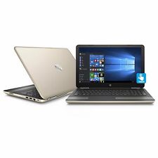 "HP Gold Pavilion 15t Touch Laptop 15 15.6"" i5-6200u 6GB 1TB DVDRW AC Bluetooth"