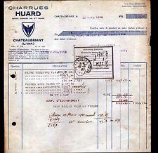 """CHATEAUBRIANT (44) USINE de MACHINES AGRICOLES / CHARRUE """"Charles HUARD"""" en 1940"""