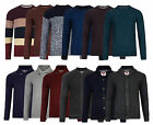 Tokyo Laundry New Mens Crew Neck Jumpers & Cardigans Knit Style Sweater Pullover