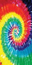 """Tie Dye Towel Hippie Spiral Beach Pool Souvenir 30""""x60"""""""