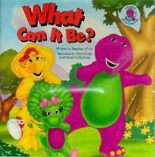 What Can It Be?: A Barney Book and Tape (Barney Book and Tape Series)