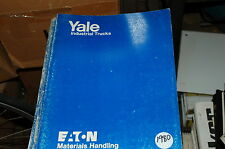 YALE Model ERPR Lift Truck Forklift Parts Manual book catalog list spare 1980