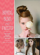NEW Braids, Buns, And Twists! by Christina Butcher BOOK (Paperback) Free P&P