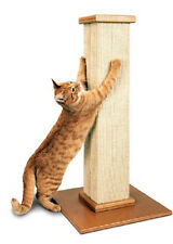 Cat Scratching Post Extra Large Durable Stable Sisal  and Wood Grooming Exercise