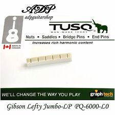 SILLET IVORY TUSQ PQ-6000-L0 GAUCHER GIBSON JUMBO fits LP SG graphTech Lefty Nut