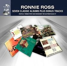 RONNIE ROSS - 7 CLASSIC ALBUMS PLUS 4 CD BOX-SET NEU DON RONDELL/BENNY GOODMAN