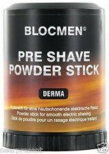 BLOC MEN© Pre Shave Powder Stick 60g DERMA ( 100g = 14,92 Euro) Ww Shipment