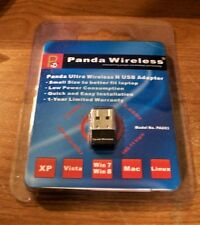 Panda Ultra 150Mbps Wireless N USB Adapter Windows XP/Vista/7/8/8.1/10, Windows
