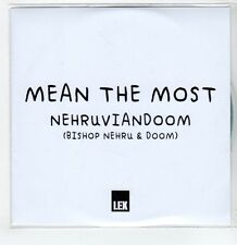 (GS325) Mean The Most, Nehruviandoom - DJ CD