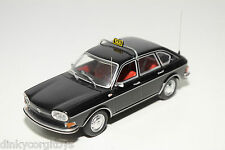 MINICHAMPS VW VOLKSWAGEN 411 LE 411LE BLACK TAXI MINT CONDITION RARE