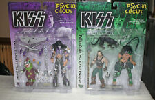 Kiss Mcfarlane Psycho Circus Complete Set Of 4 Figures 1998 New in Box