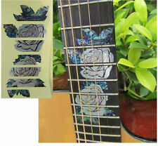 Guitar Inlay Stickers Rose Decals