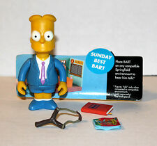 SIMPSONS PLAYMATES WORLD OF SPRINGFIELD SUNDAY BEST BART INTERACTIVE FIGURE