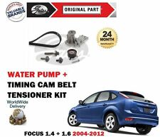FOR FORD FOCUS 1.4 1.6 16v + Ti 2004-2012 TIMING CAM BELT KIT + WATER PUMP SET