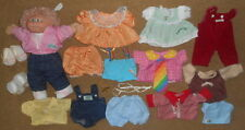 LOT Vintage Cabbage Patch Kid DOLL Clothes PACIFIER Ribbon SHOES Boy Girl Dress