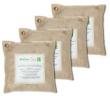 Bamboo Clear Air Purifying Natural Bags, Deodorizer Remove Pet Odor - 4 x 500g