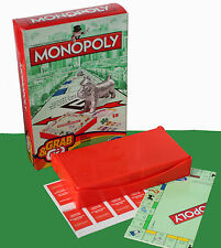Monopoly costume & go classic travel board/hasbro gaming-neuf