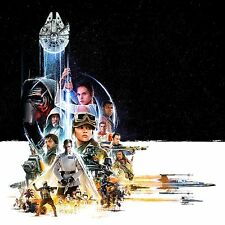 STAR WARS VII IL RISVEGLIO DELLA FORZA FORCE AWAKENS ROGUE ONE MANIFESTO LUCAS