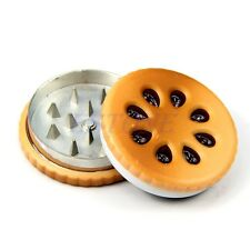 New Sale Biscuit Design Herbal Herb Tobacco Grinder Smoke Crusher Hand Muller