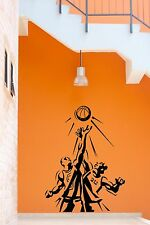 Wall Stickers Vinyl Decal Sport Basketball Players Decor For Living Room (z1835)