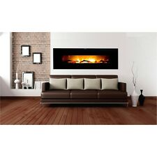 "Warm House VWWF-10306 Valencia 50"" Wide Screen Wall Hanging Electric Fireplace"