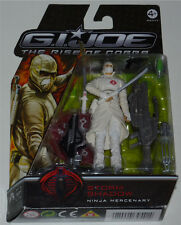 G.I.JOE 2009 RISE OF COBRA STORM SHADOW NINJA MERCENARY MOC NEU & OVP GI JOE