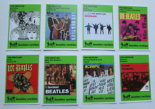 Set of 8 BEATLES RARITIES trade cards - GREEN 'Rare Global Releases' series