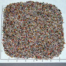 GEMSTONE MIX 1-3mm tumbled 1/2 lb bulk xxmini stones, turquoise sand