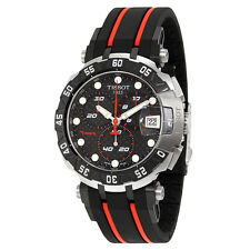 Tissot T-Race MotoGp 2015 Black Dial Red and Black Rubber Mens Sports Watch