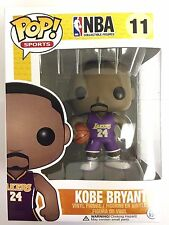 Authentic Funko Pop NBA Lakers Kobe Bryant Away Purple Jersey Vinyl Figure NEW