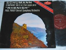 PARAY Schumann RHENISH Mercury Living Presence MG50133 LP VG++