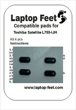 Laptop Feet for Toshiba Satelite L755/L750D ser. comp kit (4 pcs self adh by 3M)