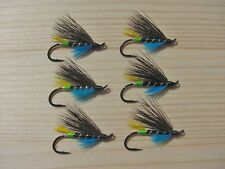 Green Butt Dark Wing Blue Charm Atlantic Salmon Flies - 6 Fly MULTI-PACK