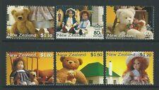Nueva Zelanda 2000 osos y muñecas Conjunto de 6 Menta desmontado, estampillada sin montar o nunca montada
